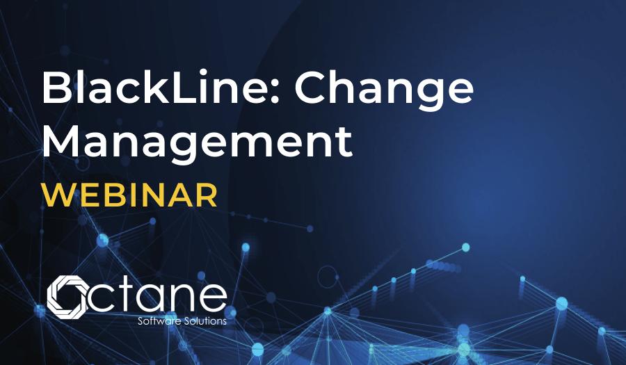 WEBINAR | BlackLine: Change Management